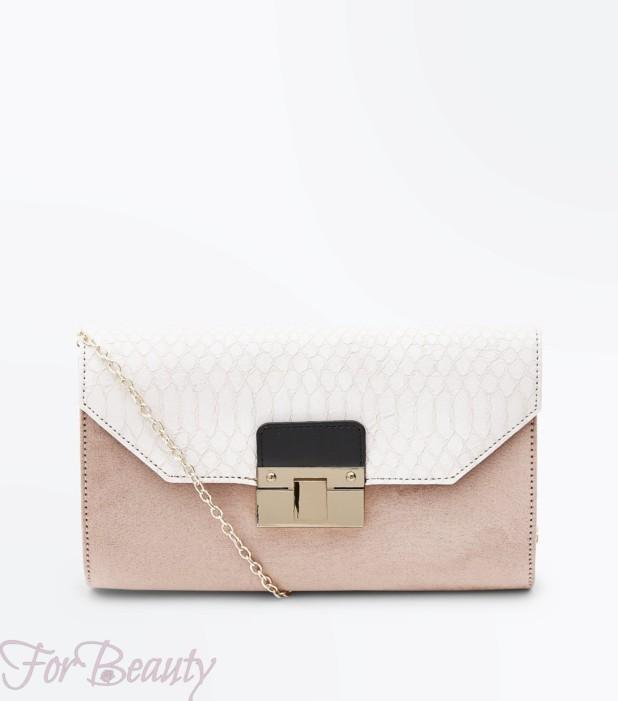 Модная розовая женская сумка 2018