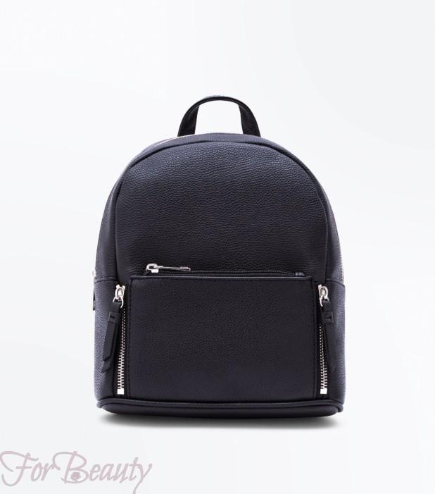 Модная черная женская сумка 2018