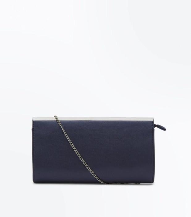 Модные сумки: черный женский клатч