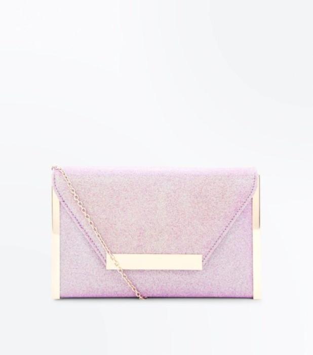 Модные сумки: розовый женский клатч