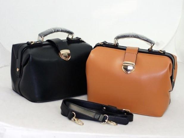 Модные женские сумки: саквояж