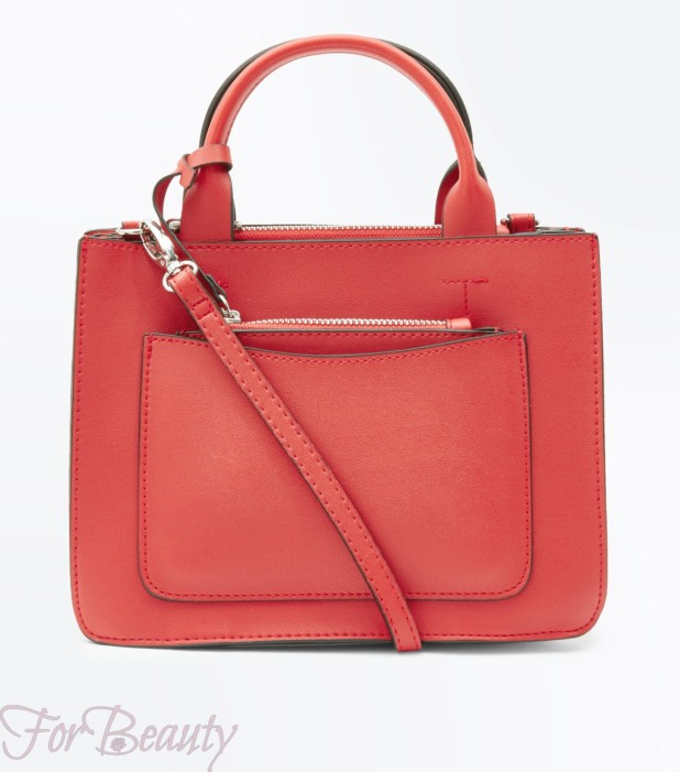 Модная красная женская сумка 2018