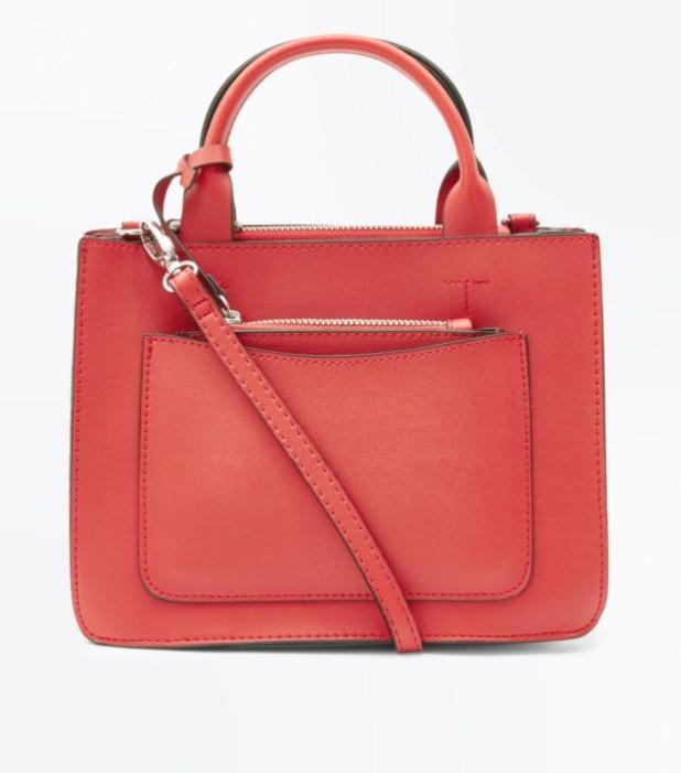 Модные женские сумки 2018-2019: красная