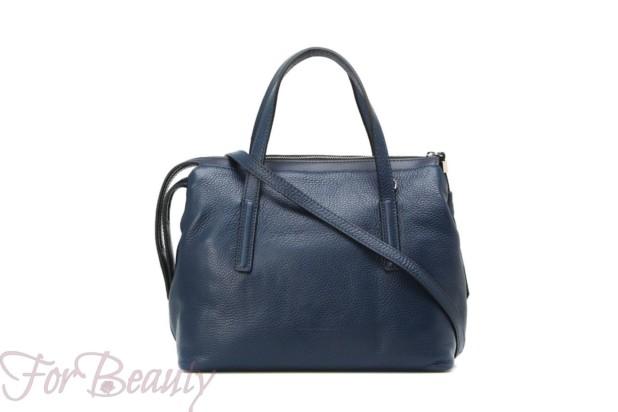 Модная синяя женские сумкатоут2018