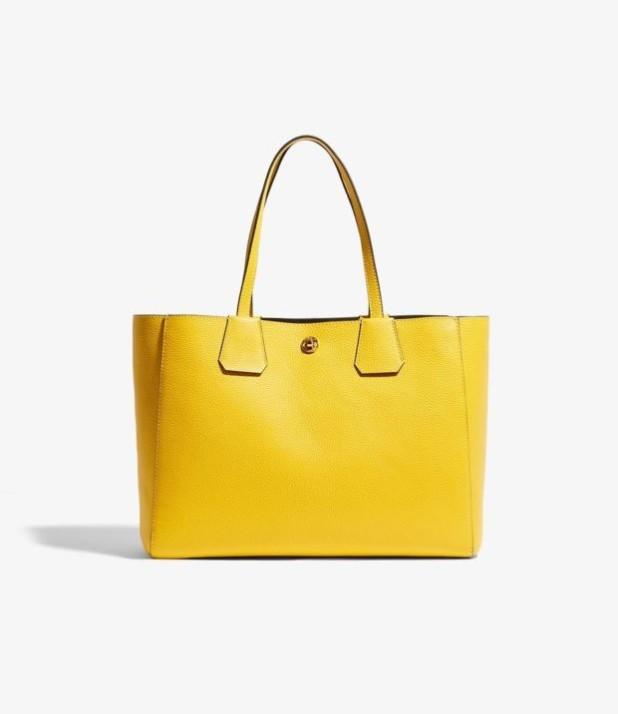 Модная желтая женские сумкатоут
