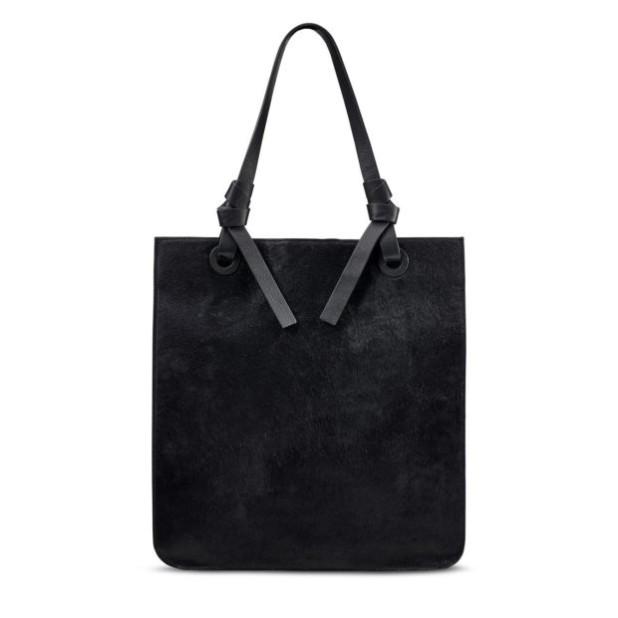 Модная черная женские сумкатоут