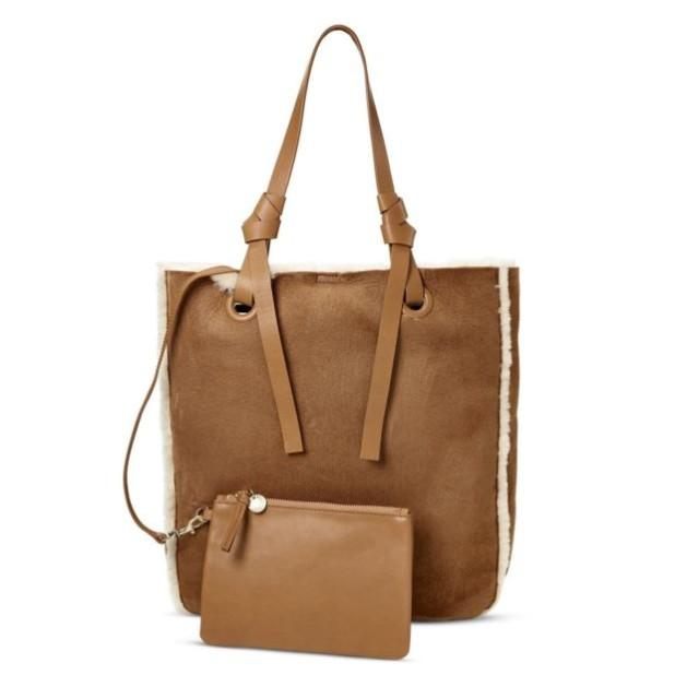 Модная коричневая женские сумкатоут
