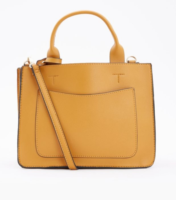 Модные женские сумки 2018-2019: коричневая