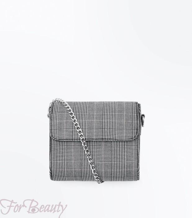 Модная серая женская сумка 2018