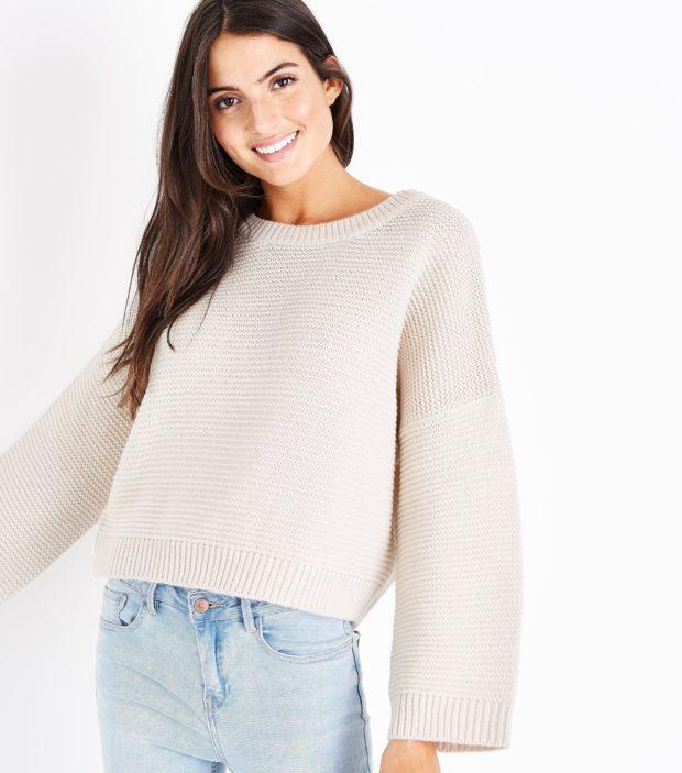 модные свитера осень 2019-2020 фото: розовый