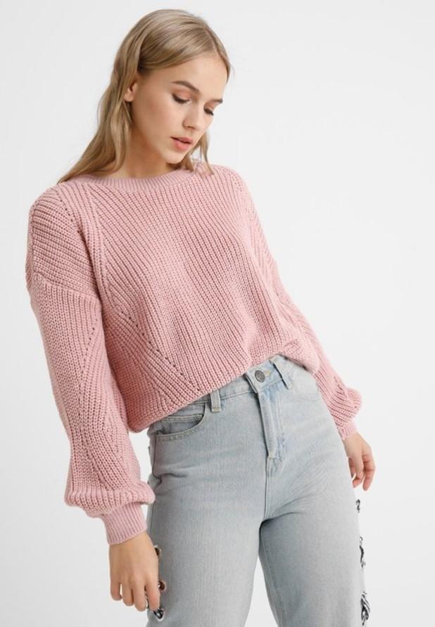 свитера 2018 2019 женские: розовый