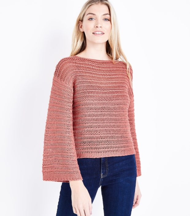 модные женские свитера 2019-2020: розовый