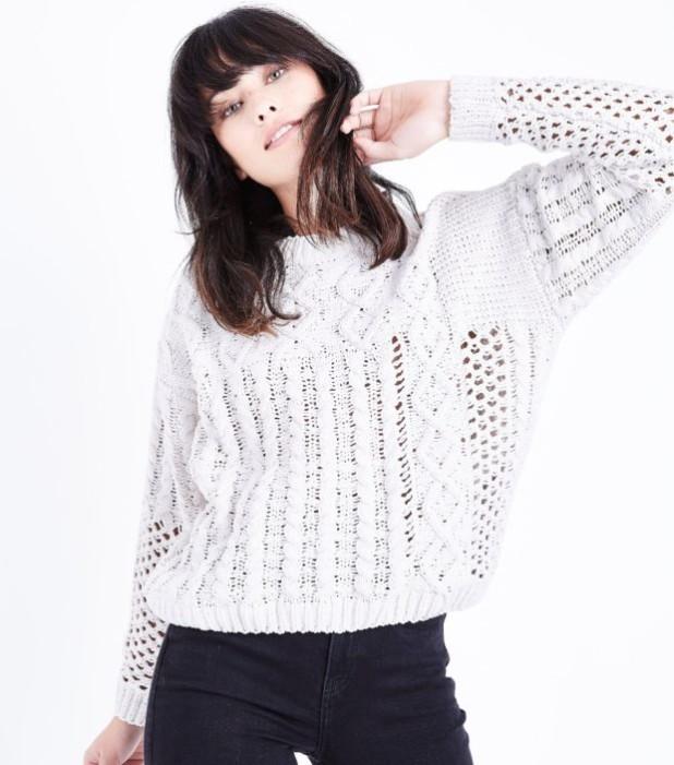 модные свитера 2018 2019 женские: белый