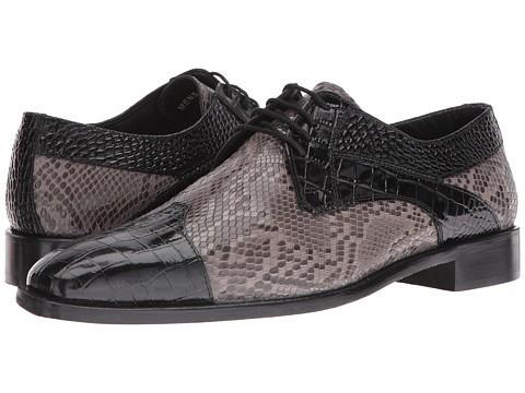 модная мужская обувь с имитацией кожи рептилий