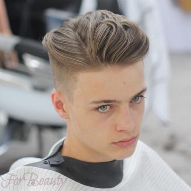 Молодежный стиль мужских причесок 2018 фото