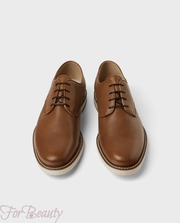Мужская обувь со шнуровкой 2018