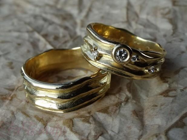 Винтажныеобручальные кольца 2018 фото