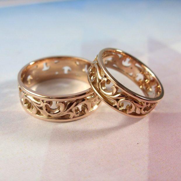 Винтажныеобручальные кольца
