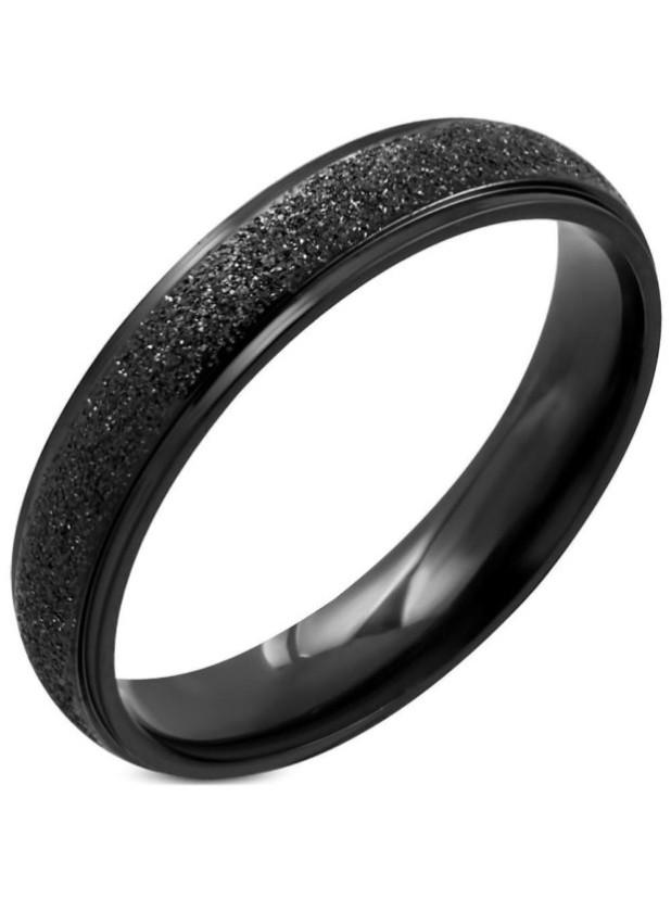 обручальные кольца черного цвета
