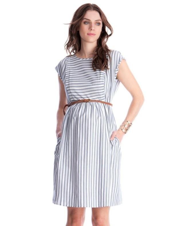 мода для беременных: Легкие платья