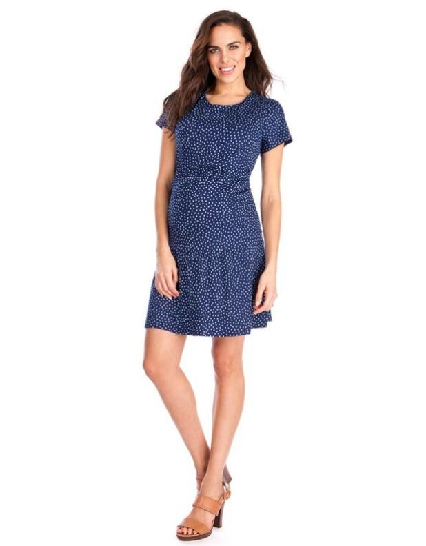 мода для беременных: платья
