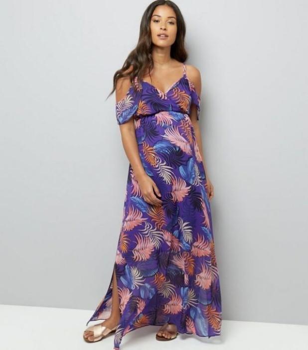 красивое вечернее платье для беременных