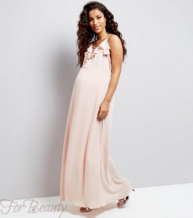 стильные вечерние платья для беременных
