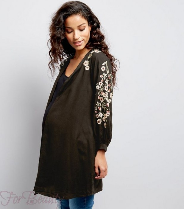 модные туники для беременных 2018