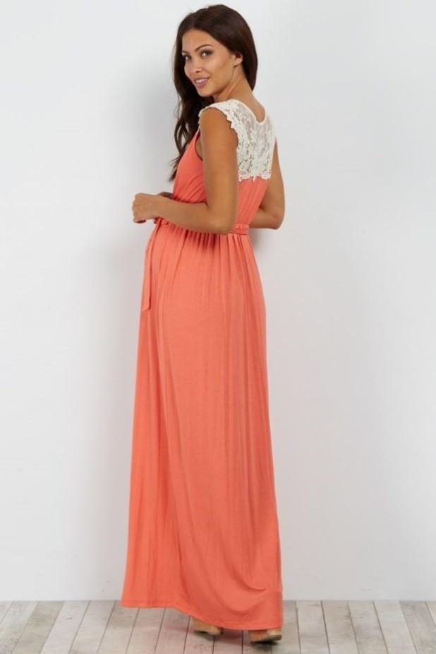 Цветовая палитра модной одежды для беременных женщин в положении