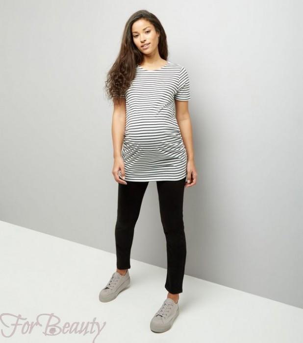 Облегающие брюки для беременных 2018 фото