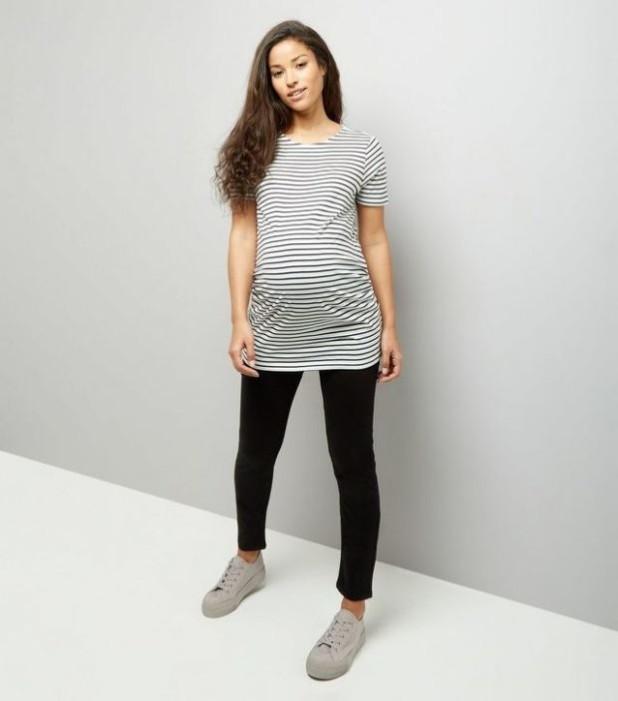 Облегающие брюки для беременных