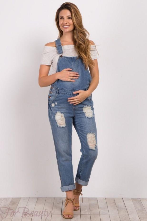 Летние комбинезоны для беременных 2018 фото