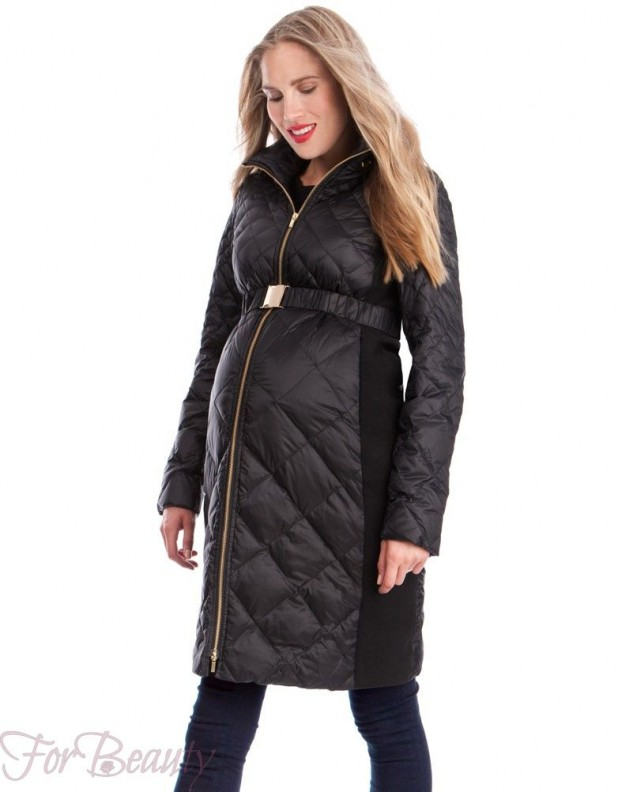пальто для беременных 2018 фото