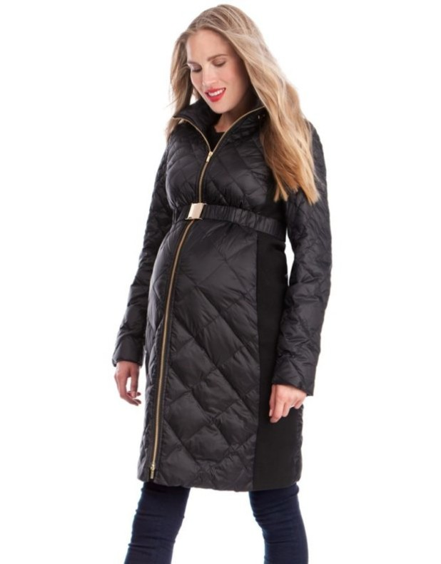мода для беременных: пальто