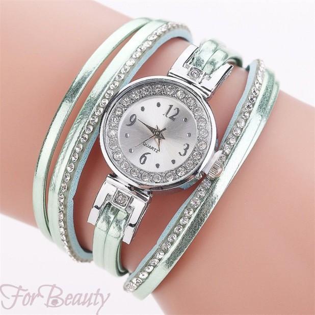 Женские часы в форме браслета 2018 фото
