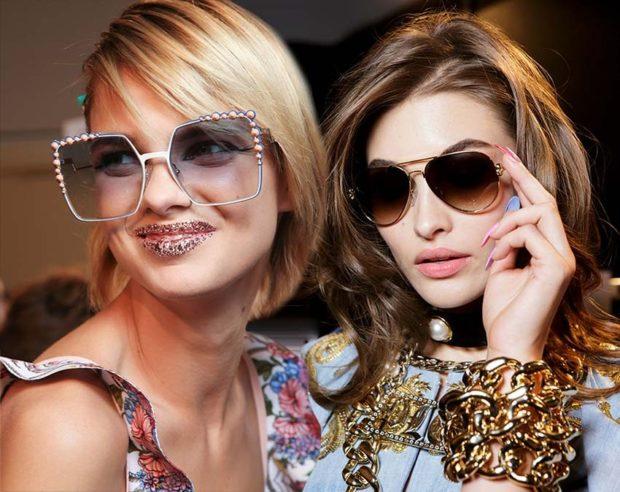 Солнцезащитные очки 2018-2019 женские тренды