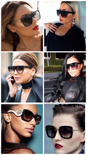 Солнцезащитные очки вайфареры 2018 женские тренды