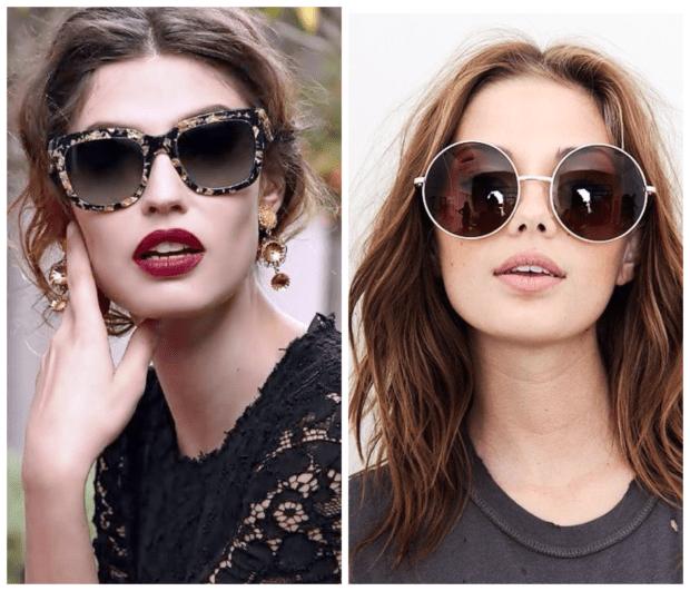 солнцезащитные очки 2018-2019 по типу лица