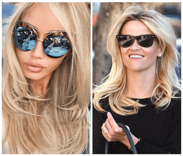 модные солнцезащитные очки 2018-2019 по типу лица фото