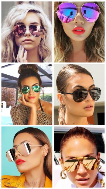 Солнцезащитные очки авиаторы 2018 женские тренды