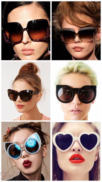 Крупные солнцезащитные очки 2018 женские тренды