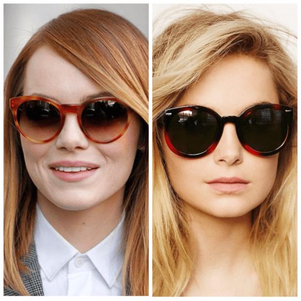 Выбираем модные солнцезащитные очки 2018-2019 по типу лица