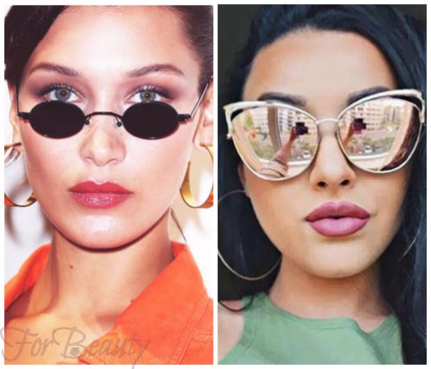 солнцезащитные очки 2018 овальное лицо