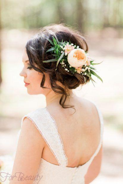 Свадебная укладка волос 2018 фото