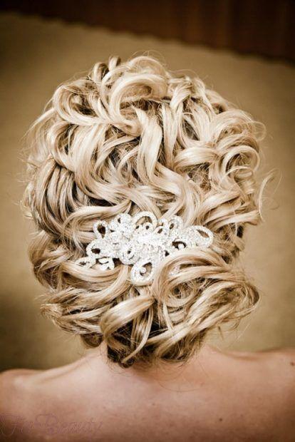 красивая свадебная укладка волос 2018