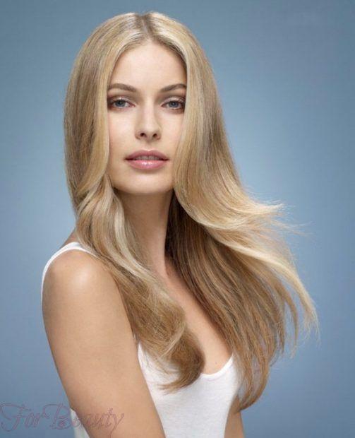 красивая укладка волос с распущенными волосами 2018-2019