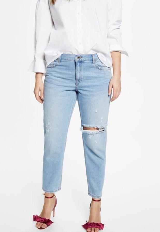 Модные джинсы для полных 2018-2019