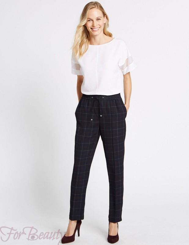 Модные брюки-дудочки в базовом гардеробе 2018 фото тенденции
