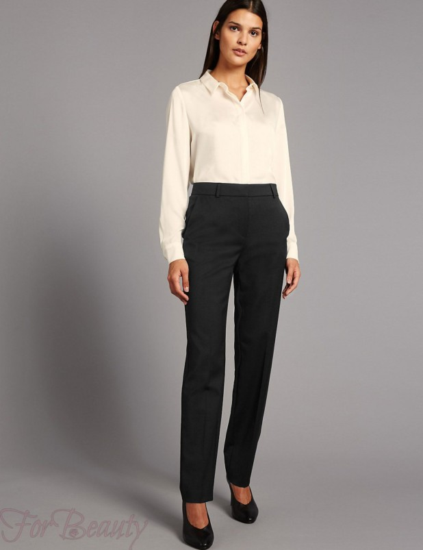 Модные брюки-дудочки в базовом гардеробе 2018
