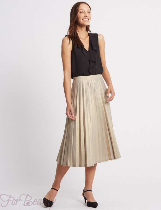 Модные юбки в базовом гардеробе 2018 фото тенденции